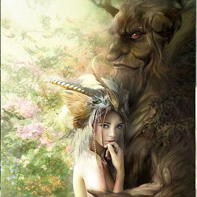 Ilustracion Los Amantes de Sarima
