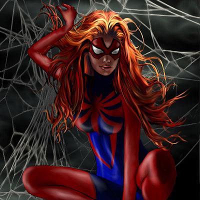 Ilustracion Spider de Sarima