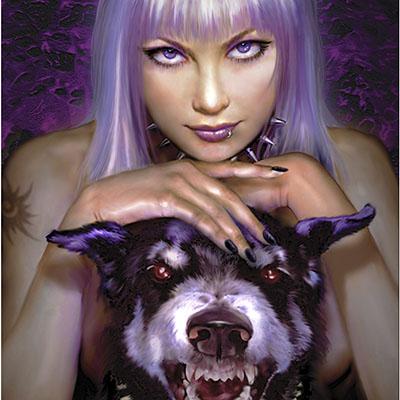 Ilustracion Wild Violet de Sarima