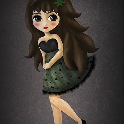 Ilustracion Lara de Ainara Garcia