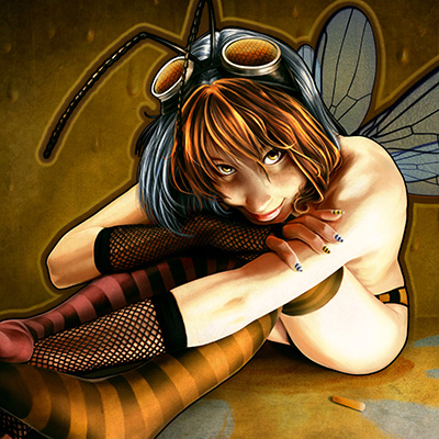 Ilustracion Bumblebeeeez de Ana del Valle