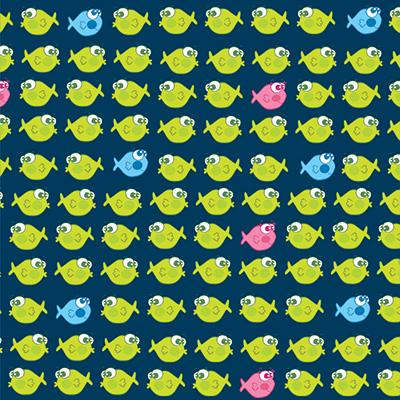 Ilustracion Miles de peces de Clara Lopez
