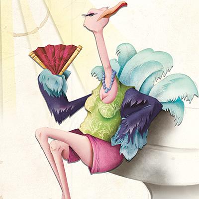 Ilustracion Mary Crumble de Davide Ortu