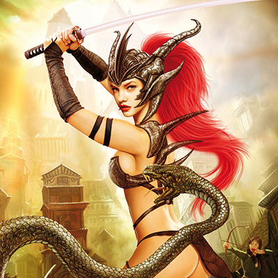 Ilustracion Snake de Jose del Nido