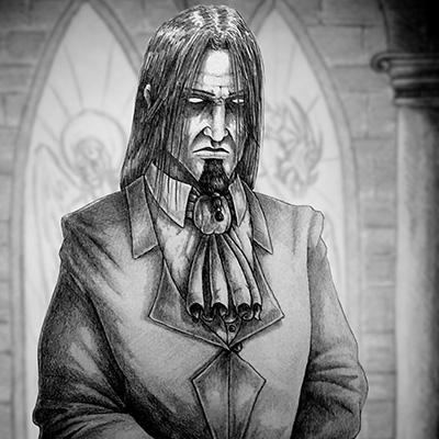 Ilustracion Noble Oscuro de Miguel Jimenez