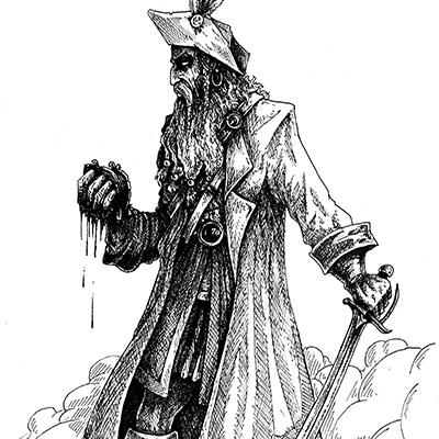 Ilustracion Pirata de Miguel Jimenez
