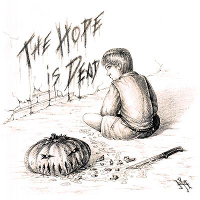Ilustracion The hope is dead de Miguel Jimenez