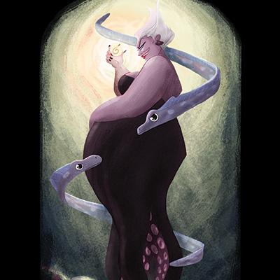 Ilustracion Ursula de Nuria Aparicio