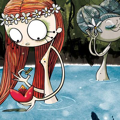 Ilustracion Princesa Nenufar de Nuria Aparicio
