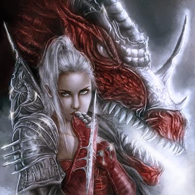 Ilustracion Dragon Horn de Yuly Alejo