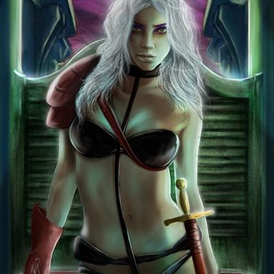 Ilustracion Taarna de Yuly Alejo