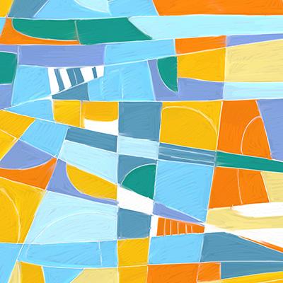 Ilustracion Composición de color de Alberto Sastre