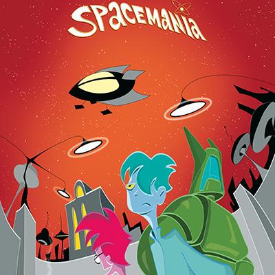 Ilustracion Spacemania de Alberto Sastre