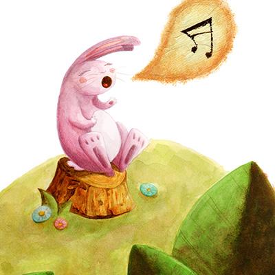 ilustracion Canción del bosque de Guiomar Gonzalez