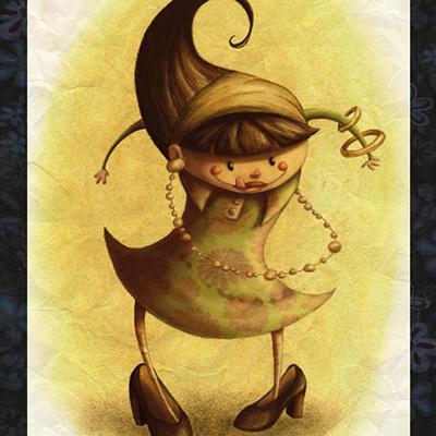 Ilustracion Nena de Guiomar Gonzalez