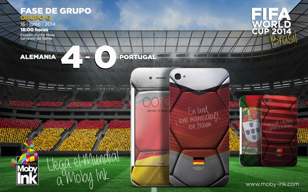 Alemania 4 – Portugal 0