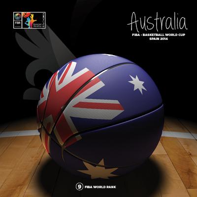 Ilustracion Australia Basketball de Moby Ink