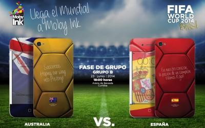 Australia Vs España Mundial Brasil 2014