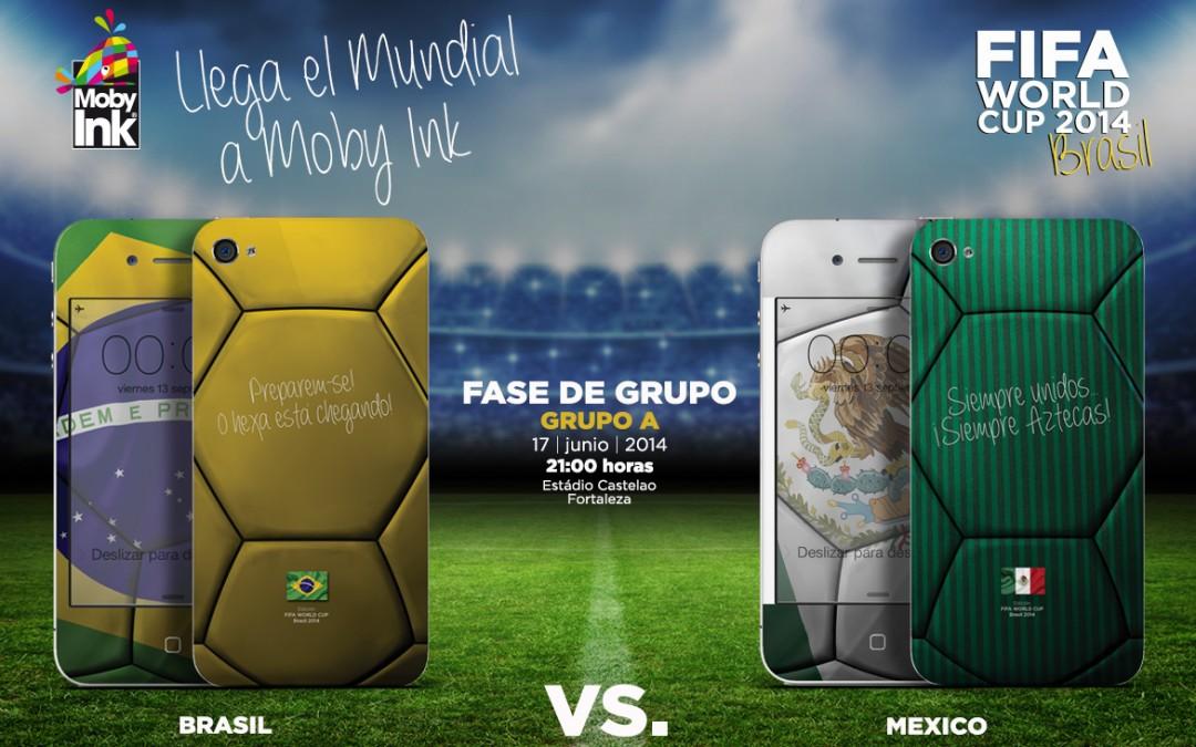 Brasil vs Mexico Mundial 2014