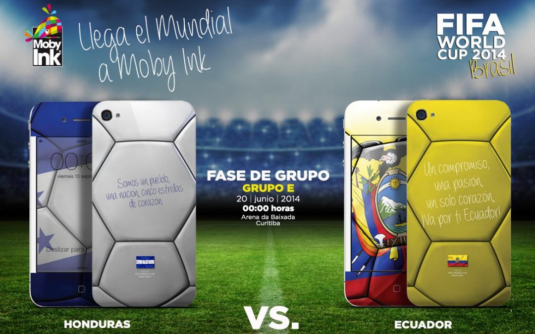 Honduras vs Ecuador Mundial Brasil 2014