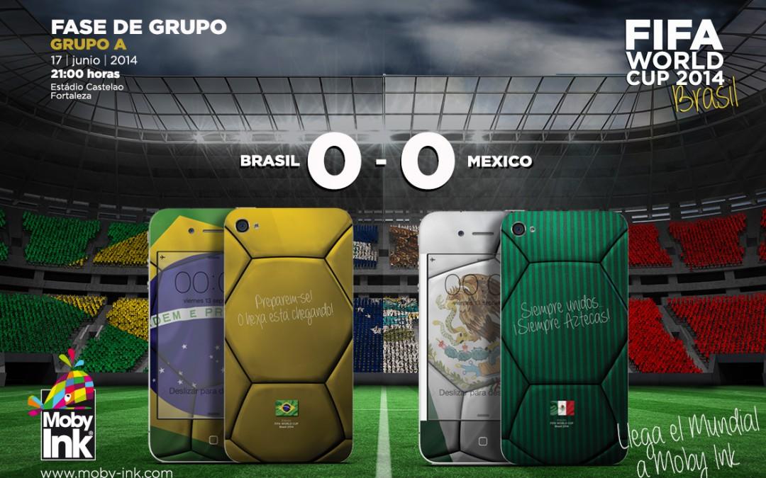Brasil no puede con Mexico