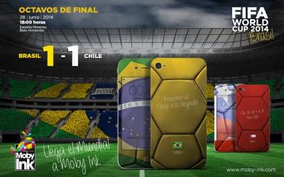 Resultado Brasil vs Chile Mundial 2014. Se mascó la tragedia