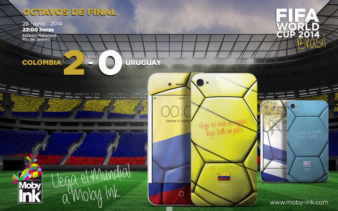 Resultado Colombia vs Uruguay. James Rodriguez hace soñar a Colombia.