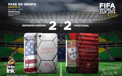 EEUU 2 Vs Portugal 2
