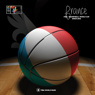Ilustracion France Basketball de Moby Ink