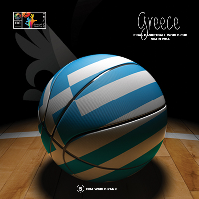 Ilustracion Greece Basketball de Moby Ink