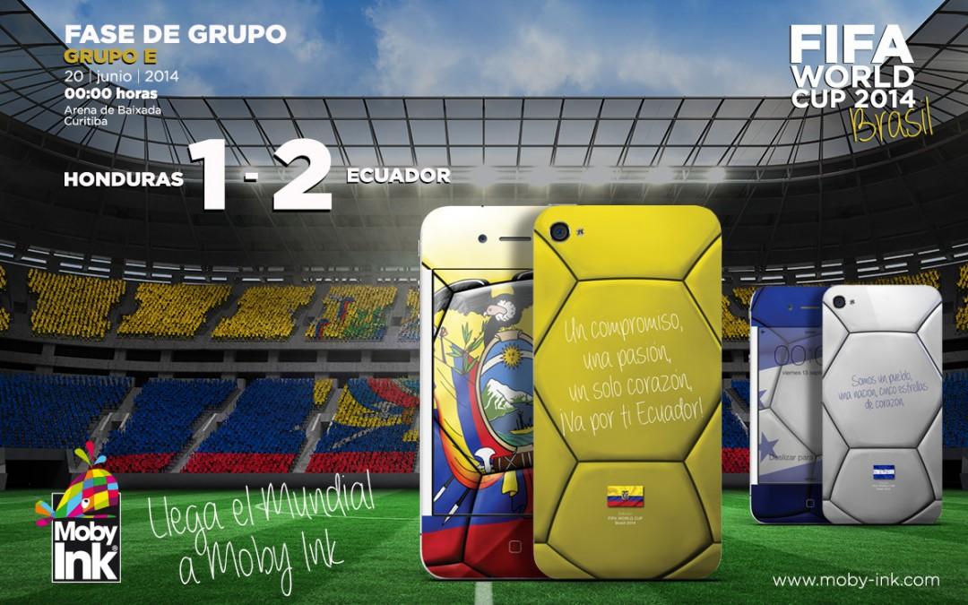 Resultado Honduras vs Ecuador Mundial 2014