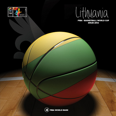 Ilustracion Lithuania Basketball de Moby Ink