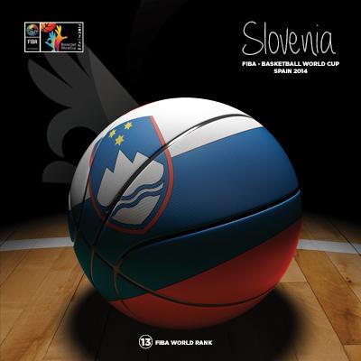 Ilustracion Slovenia Basketball de Moby Ink