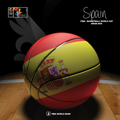 Ilustracion Spain Basketball de Moby Ink