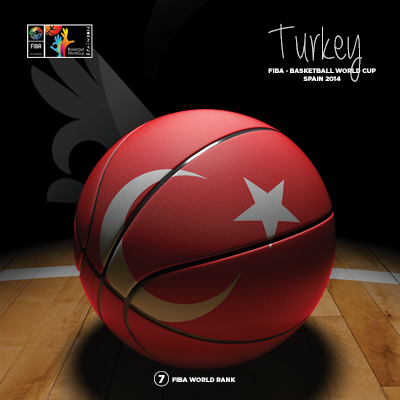 Ilustracion Turkey Basketball de Moby Ink
