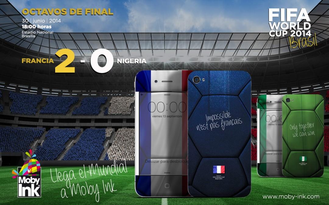 Nigeria regala a Francia el pase a cuartos