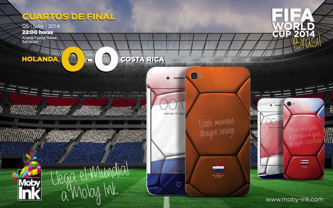 Van Gaal se mete en Semifinales