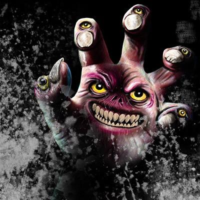 Ilustracion Zombie hand de Rodrigo Ricci