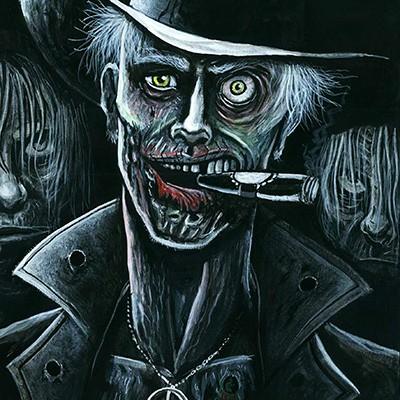 Ilustracion Zombies II de Rodrigo Ricci