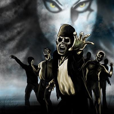 Ilustracion Zombies V de Rodrigo Ricci