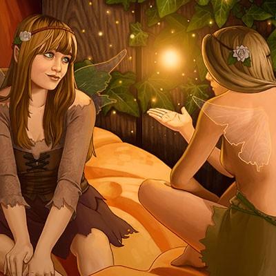Ilustracion Fairy de Sara Vallecillos